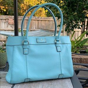 KATE SPADE  light beachy blue handbag